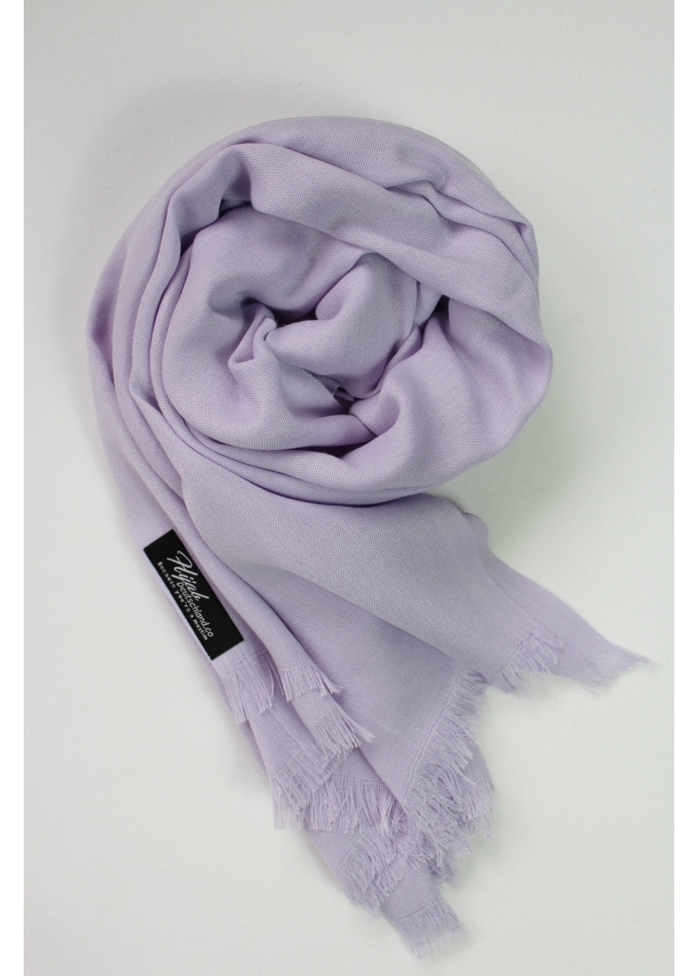 Pashmina hijab light lavender