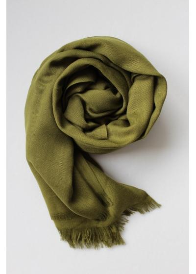Pashmina Hijab Olive grün