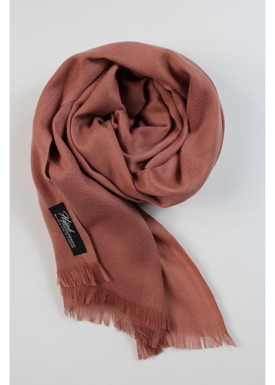 Pashmina hijab rose brown