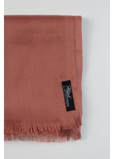 Pashmina hijab rose brown 2