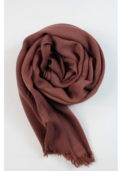 Pashmina hijab winter brown