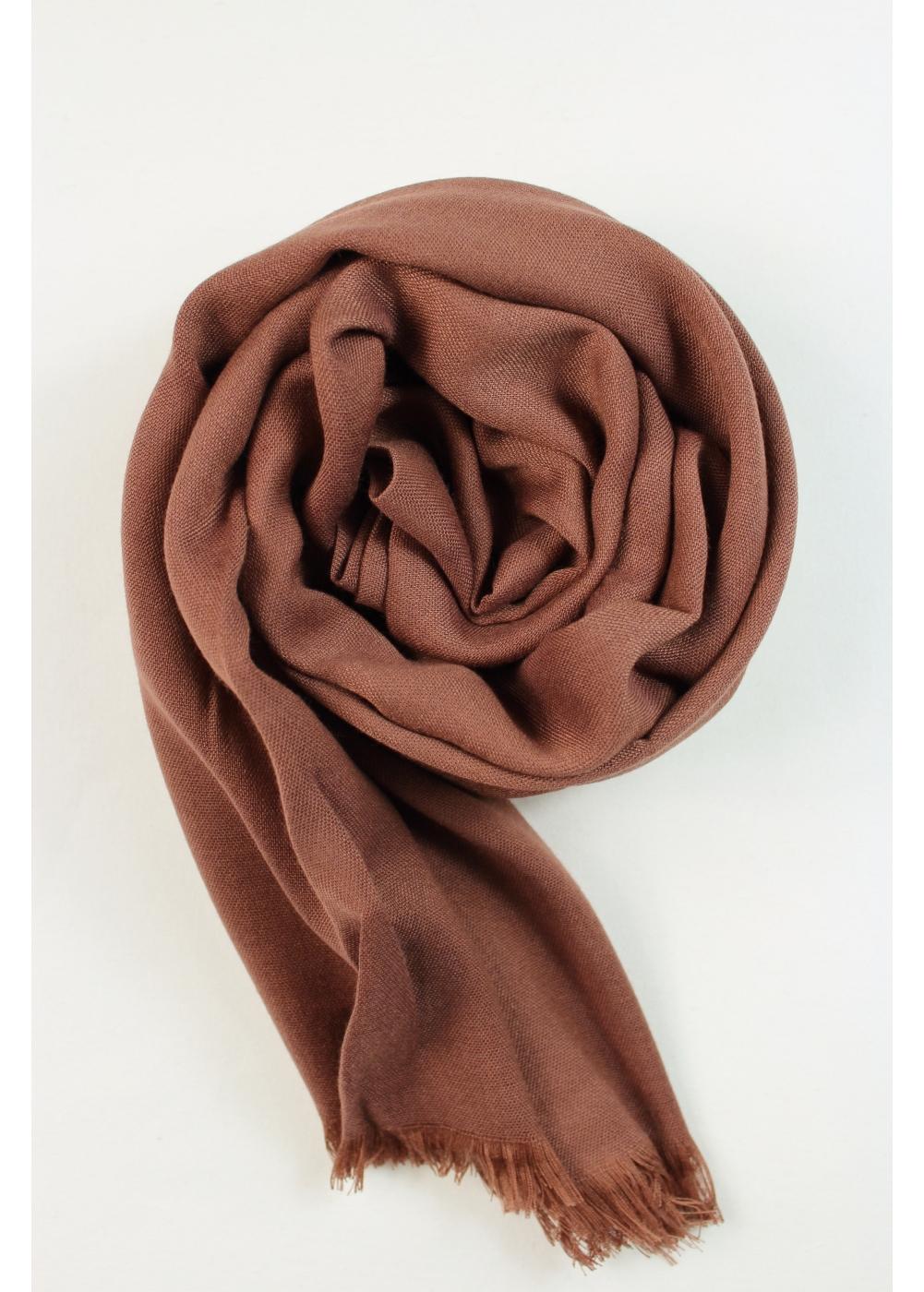 Pashmina hijab brown