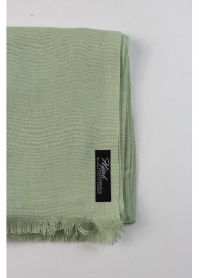 Pashmina hijab pistachio 2