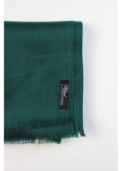 Pashmina hijab dark green 2