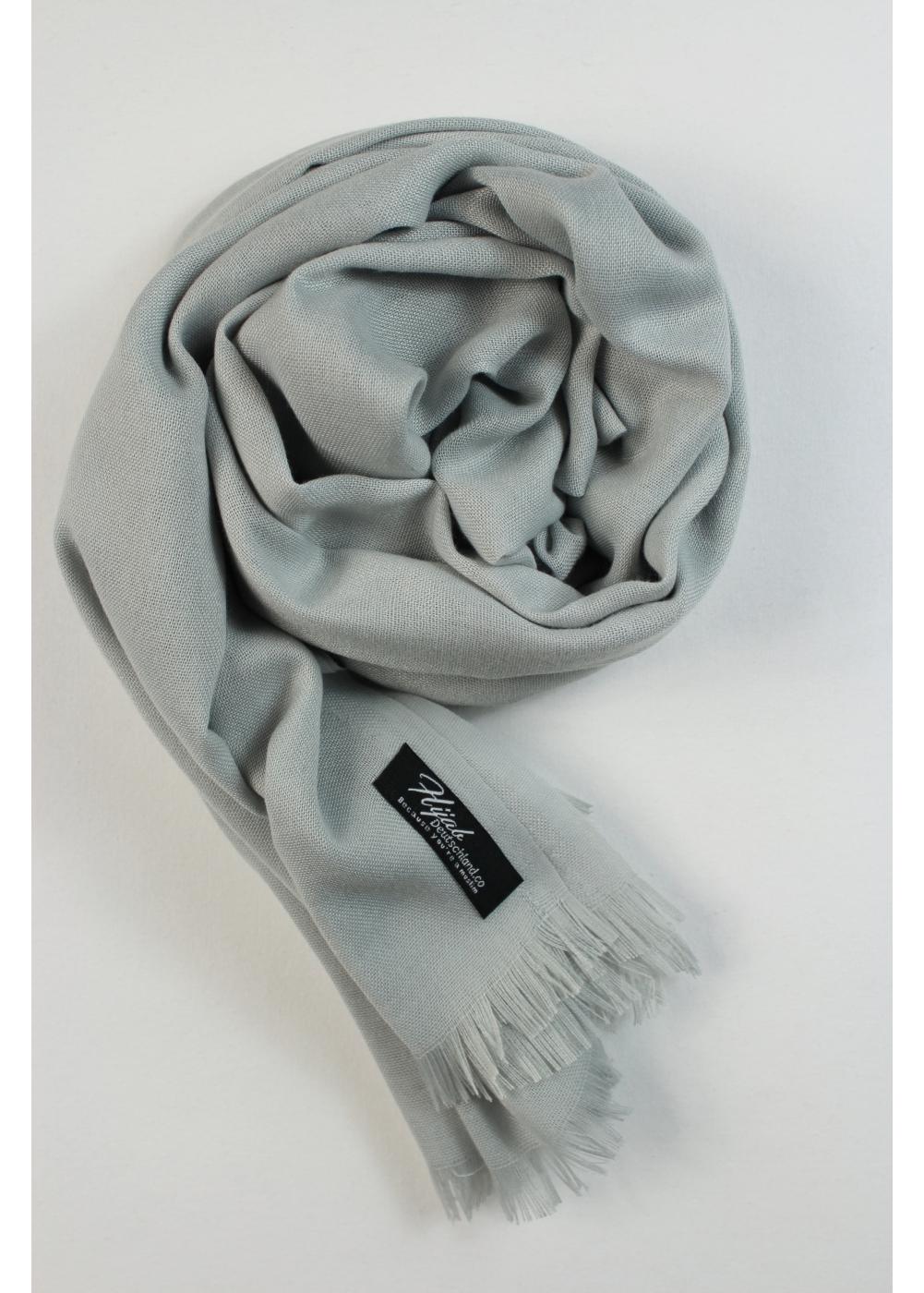 Pashmina hijab french grey