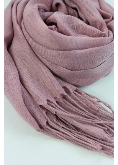 Pashmina Hijab Dusty rose 2