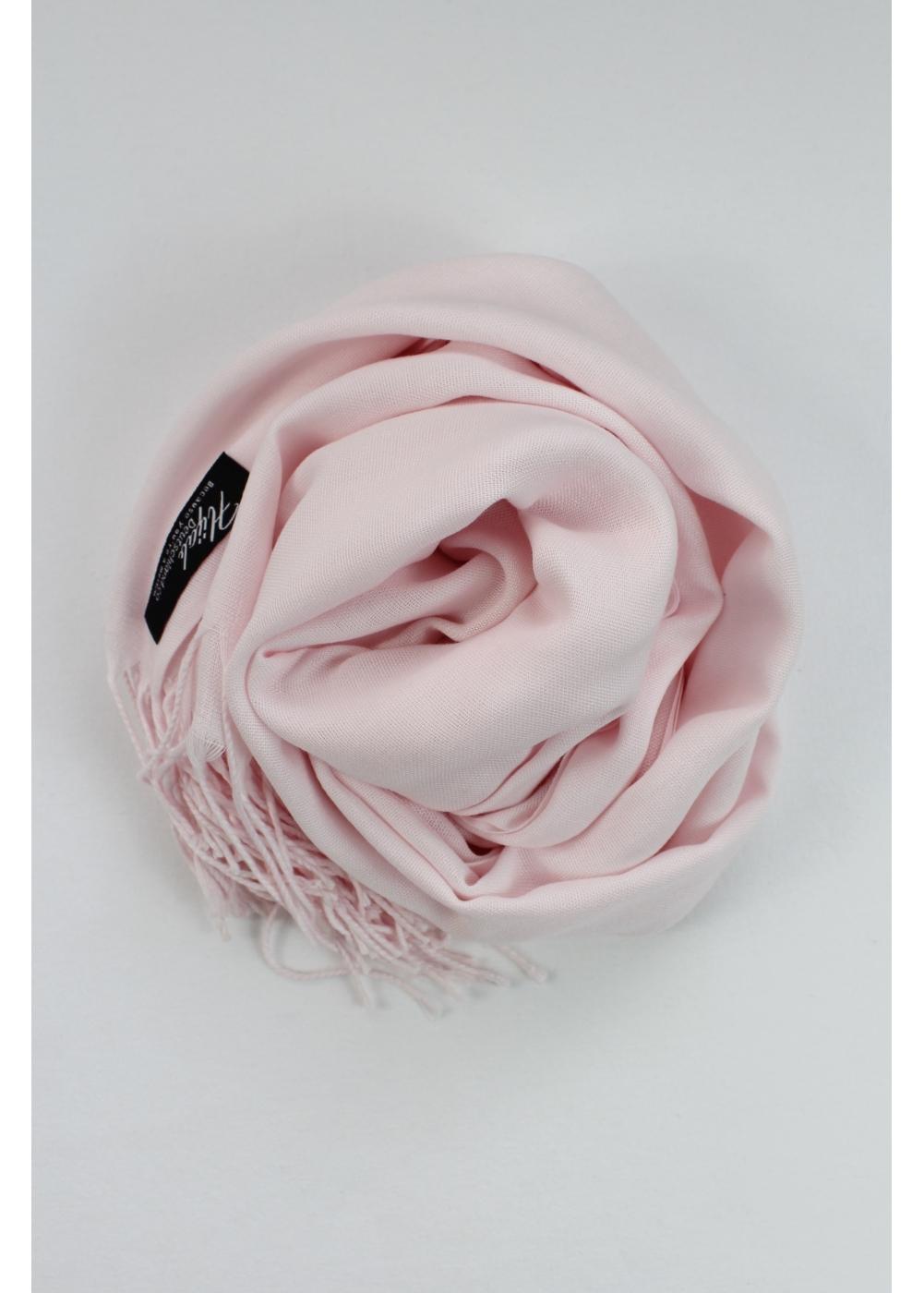 Pashmina hijab Pastel rose