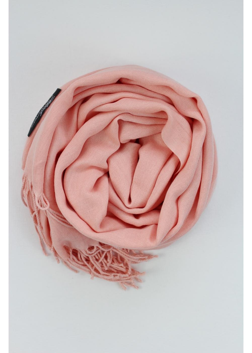 Pashmina hijab tee rose