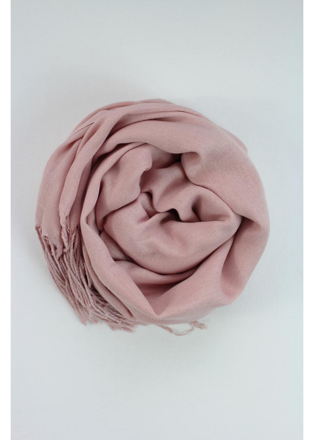 Pashmina hijab powder pink