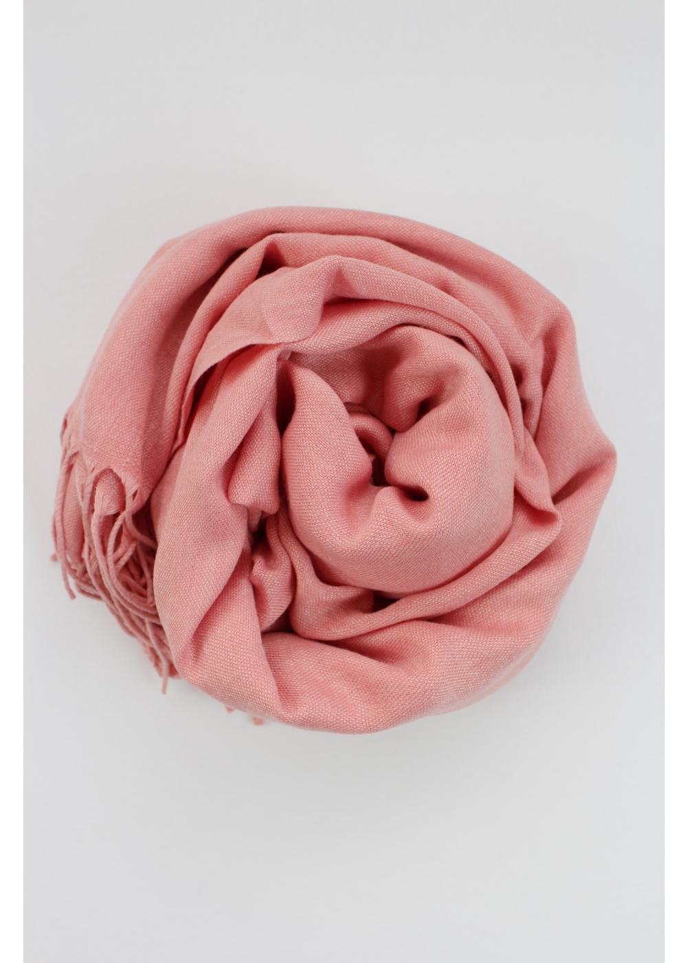 Pashmina hijab coral