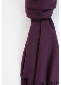 Pashmina hijab aubergine 2