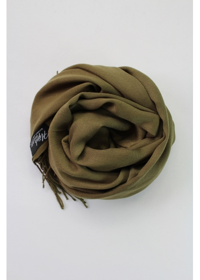 Pashmina Hijab Dark olive
