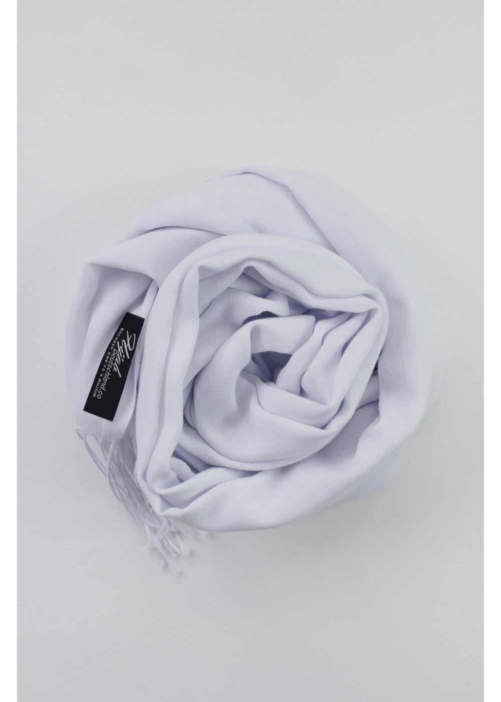 Pashmina hijab white