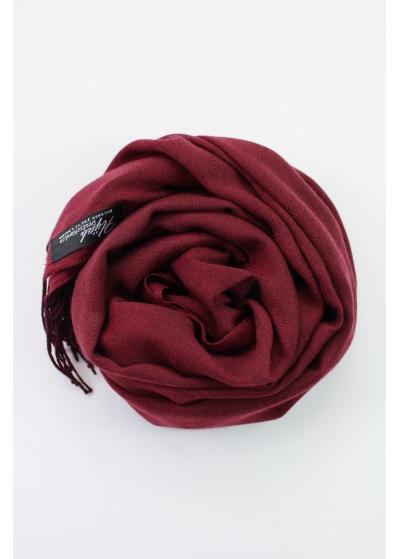 Pashmina Hijab Bordeaux meliert