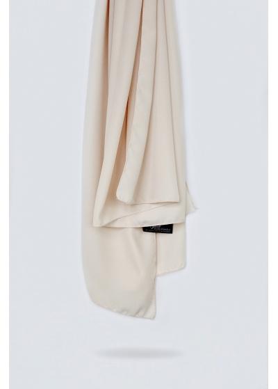 Luxe crepe hijab light nude