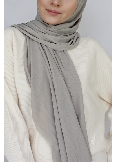Stretch Hijab Pale olive