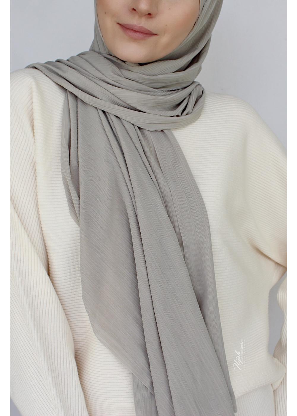Stretch Hijab Pale olive