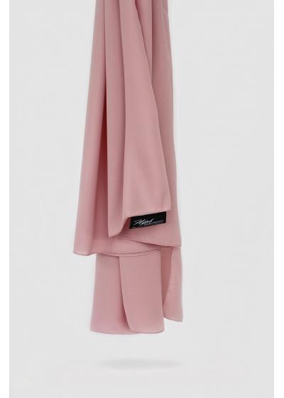 Luxe crepe hijab rose blush