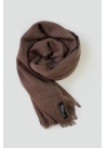 Pashmina hijab brown mottled