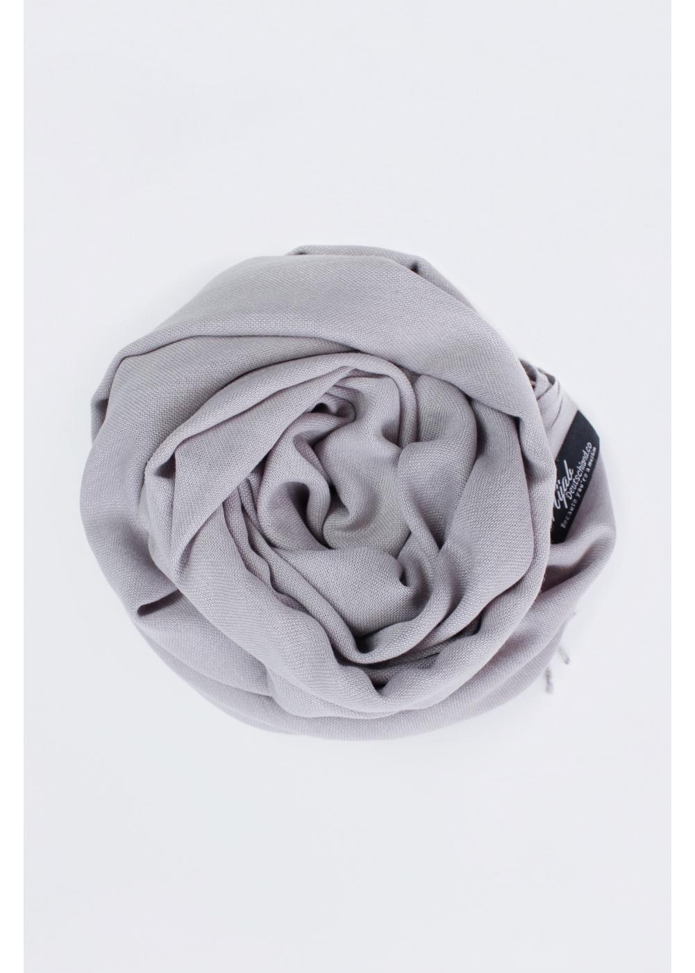 Pashmina hijab Light gray