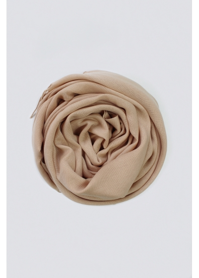 Pashmina hijab warm sand