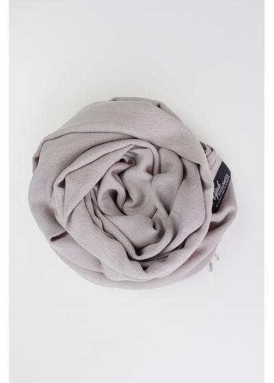 Pashmina Hijab Seidengrau