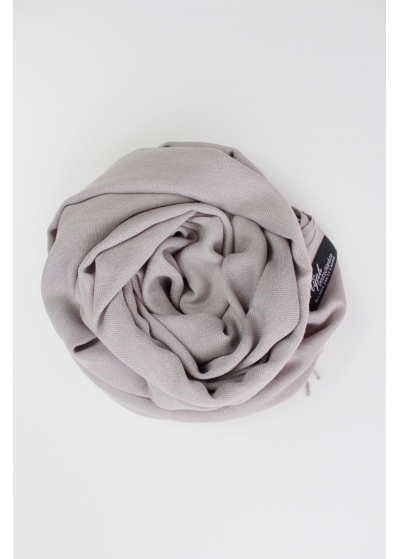 Pashmina hijab Silk gray