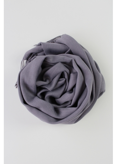 Pashmina hijab dark grey