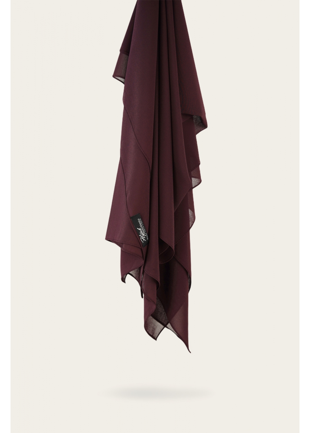 Chiffon Stretch deep fig