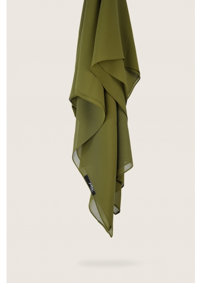 Chiffon Stretch dark olive